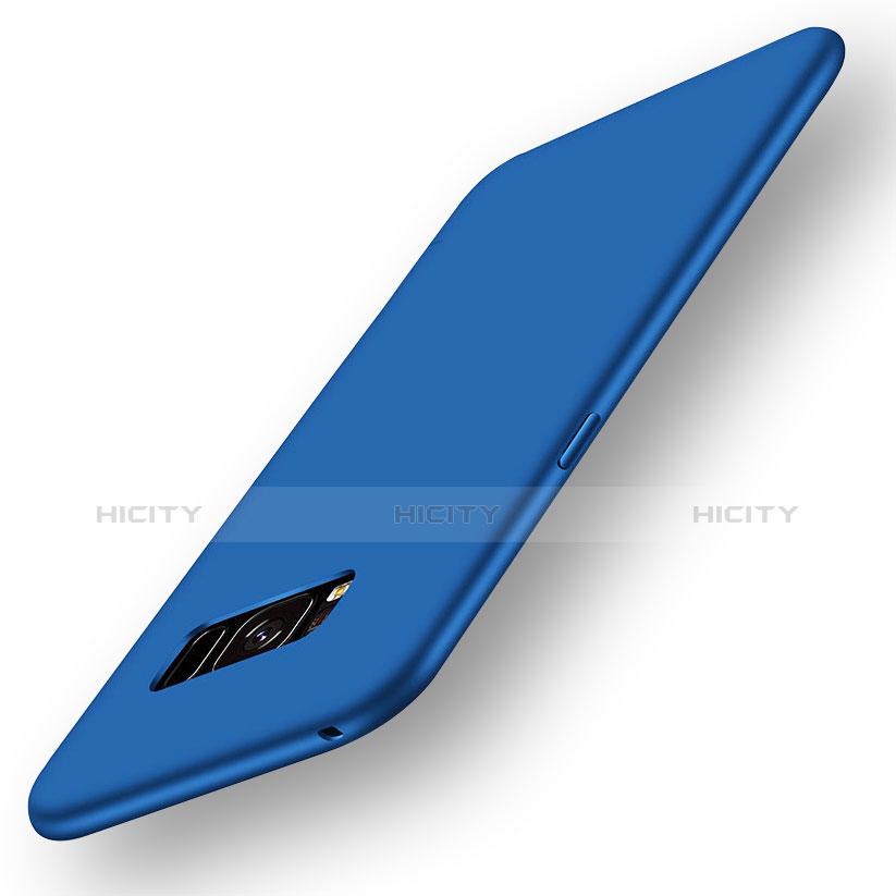 Silikon Hülle Handyhülle Ultra Dünn Schutzhülle Tasche S05 für Samsung Galaxy S8 Blau Plus