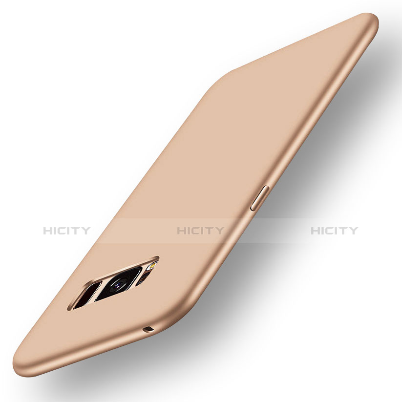 Silikon Hülle Handyhülle Ultra Dünn Schutzhülle Tasche S05 für Samsung Galaxy S8 Gold Plus