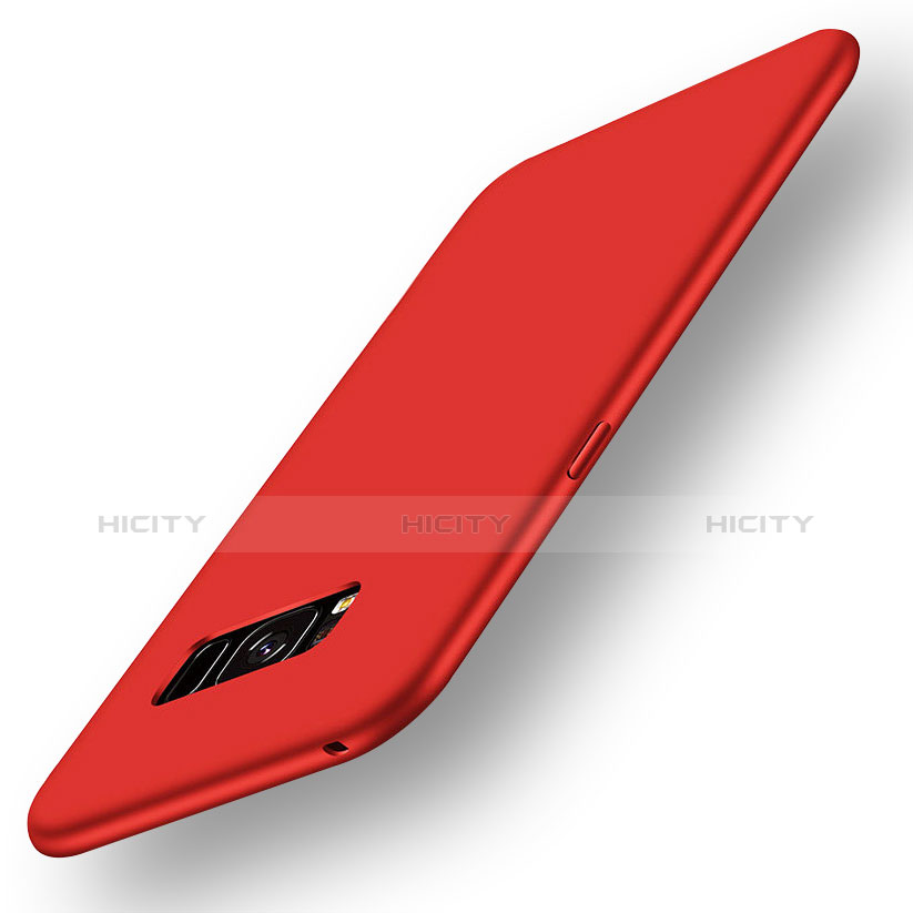 Silikon Hülle Handyhülle Ultra Dünn Schutzhülle Tasche S05 für Samsung Galaxy S8 Plus Rot Plus