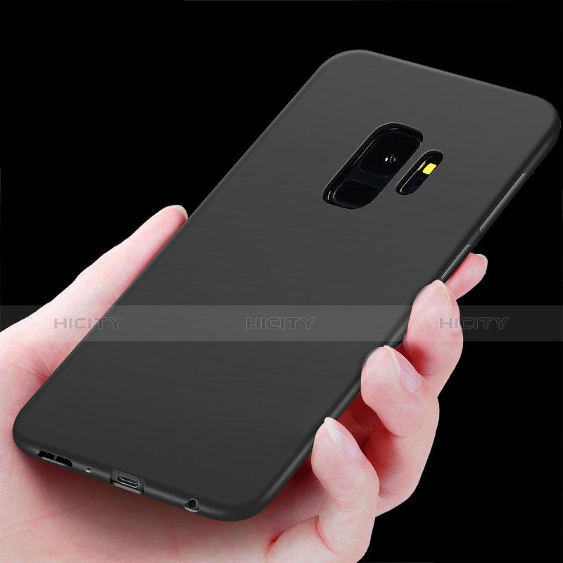 Silikon Hülle Handyhülle Ultra Dünn Schutzhülle Tasche Silikon mit Fingerring Ständer für Samsung Galaxy S9 groß