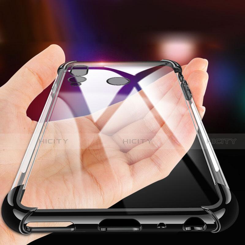 Silikon Hülle Handyhülle Ultradünn Tasche Durchsichtig Transparent für Huawei Honor 20 Lite Klar groß