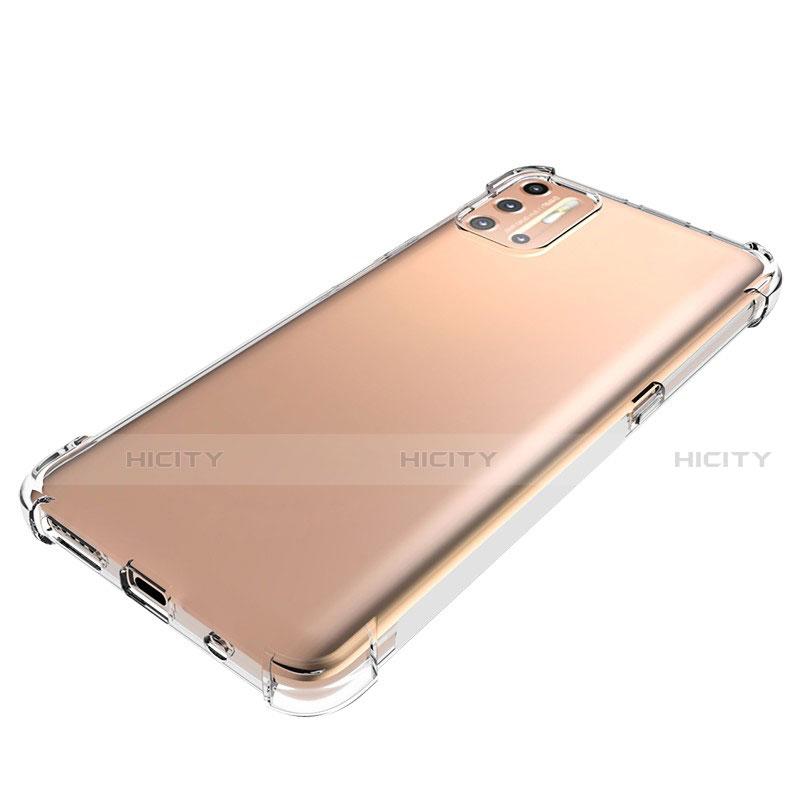 Silikon Hülle Handyhülle Ultradünn Tasche Durchsichtig Transparent für Motorola Moto G9 Plus Klar groß