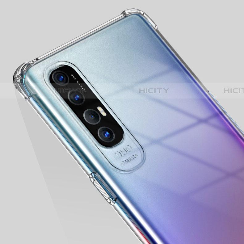 Silikon Hülle Handyhülle Ultradünn Tasche Durchsichtig Transparent für Oppo Find X2 Neo Klar groß