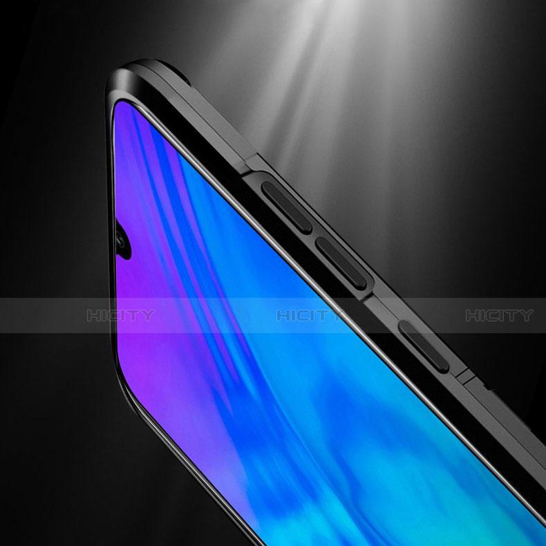 Silikon Hülle Handyhülle und Kunststoff Schutzhülle Tasche mit Magnetisch Ständer für Huawei Honor 20 Lite groß