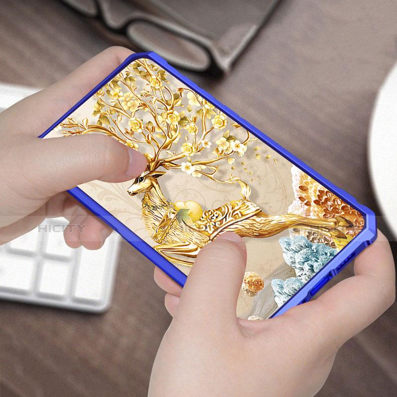 Silikon Schutzhülle Rahmen Tasche Hülle Durchsichtig Transparent Spiegel für Xiaomi Mi 9 groß
