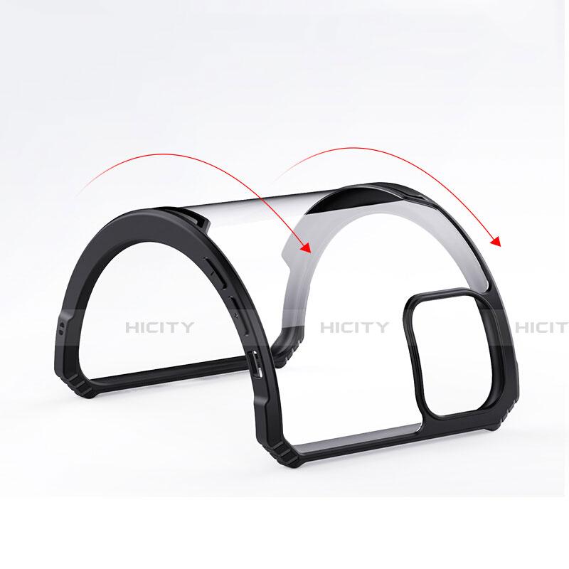 Silikon Schutzhülle Rahmen Tasche Hülle Durchsichtig Transparent Spiegel H01 für Apple iPhone 11 groß