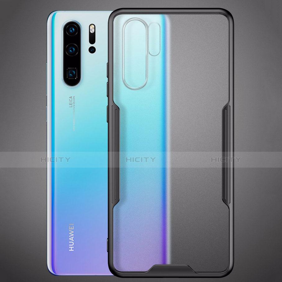 Silikon Schutzhülle Rahmen Tasche Hülle Durchsichtig Transparent Spiegel M03 für Huawei P30 Pro groß