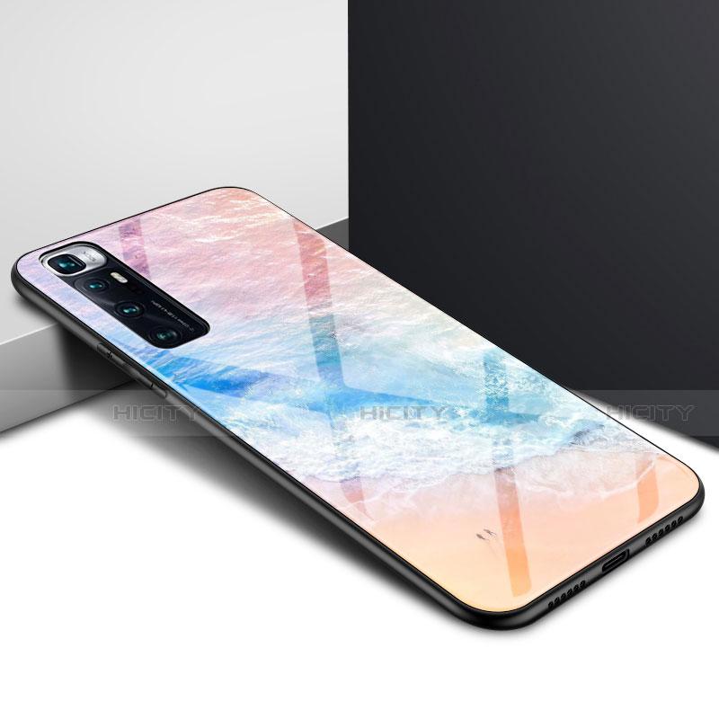 Silikon Schutzhülle Rahmen Tasche Hülle Spiegel für Xiaomi Mi 10 Ultra Bunt