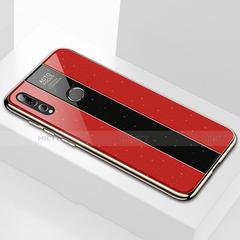 Silikon Schutzhülle Rahmen Tasche Hülle Spiegel M02 für Huawei Honor 20 Lite Rot Plus