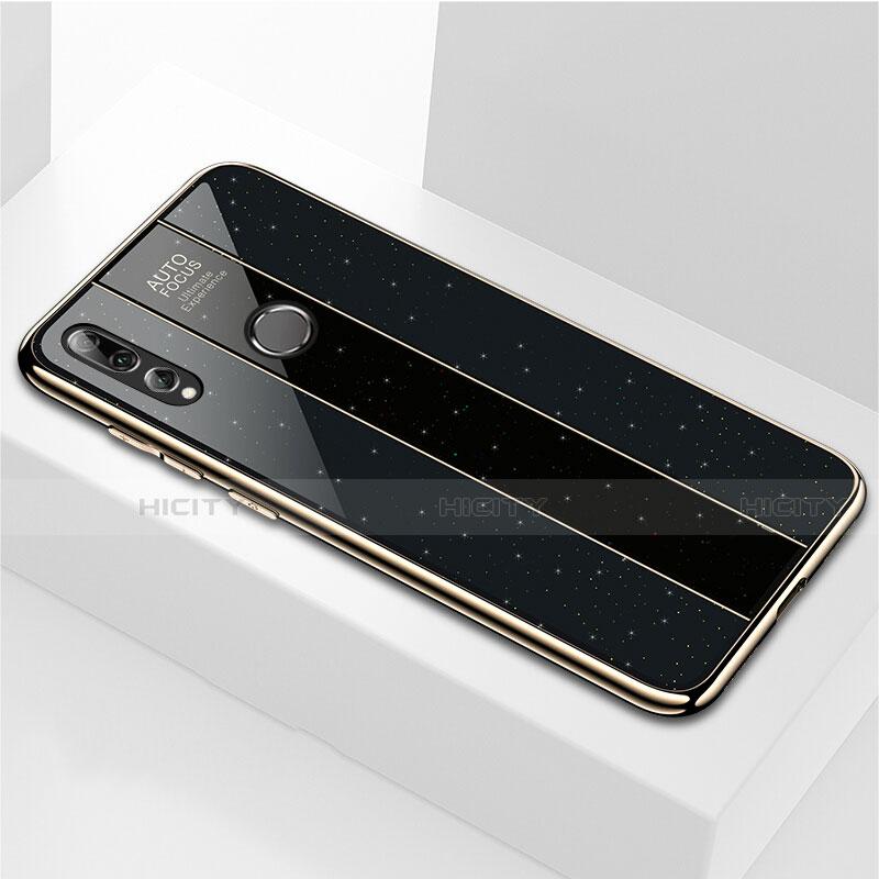 Silikon Schutzhülle Rahmen Tasche Hülle Spiegel M02 für Huawei Honor 20 Lite Schwarz Plus