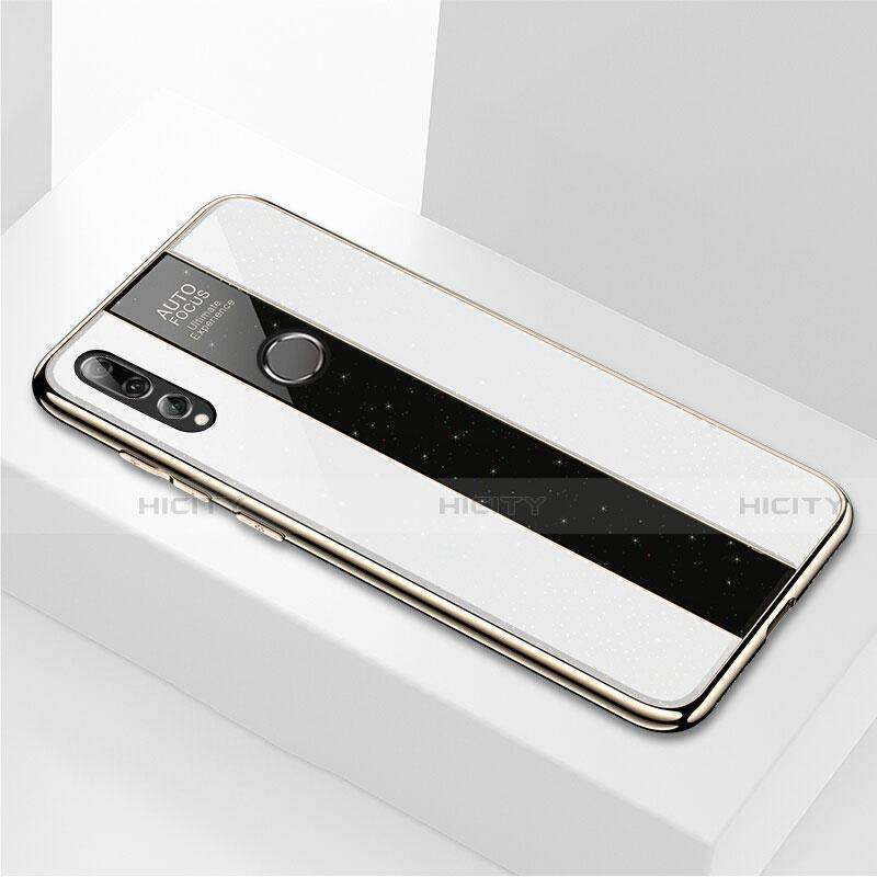 Silikon Schutzhülle Rahmen Tasche Hülle Spiegel M02 für Huawei Honor 20 Lite Weiß Plus