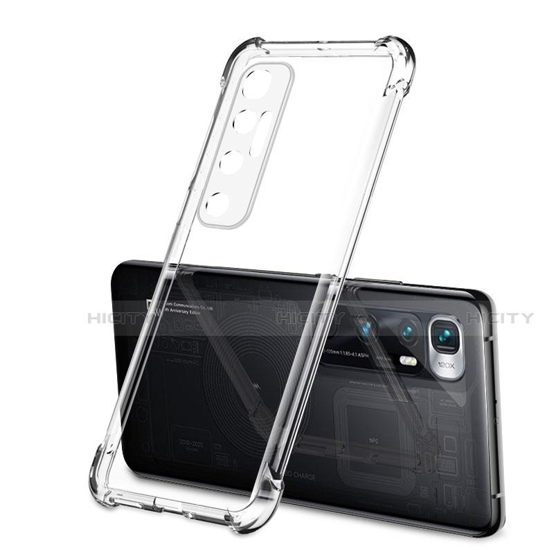 Silikon Schutzhülle Ultra Dünn Flexible Tasche Durchsichtig Transparent H01 für Xiaomi Mi 10 Ultra Klar Plus