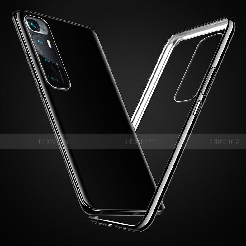 Silikon Schutzhülle Ultra Dünn Flexible Tasche Durchsichtig Transparent H03 für Xiaomi Mi 10 Ultra groß