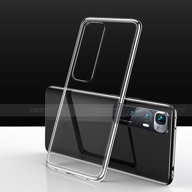 Silikon Schutzhülle Ultra Dünn Flexible Tasche Durchsichtig Transparent H03 für Xiaomi Mi 10 Ultra Klar Plus