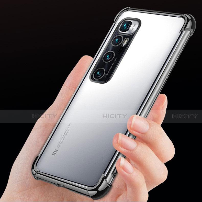 Silikon Schutzhülle Ultra Dünn Flexible Tasche Durchsichtig Transparent H04 für Xiaomi Mi 10 Ultra groß