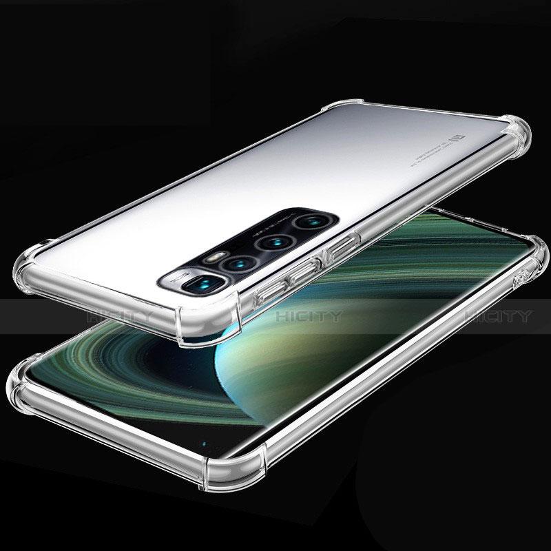 Silikon Schutzhülle Ultra Dünn Flexible Tasche Durchsichtig Transparent H04 für Xiaomi Mi 10 Ultra Klar Plus