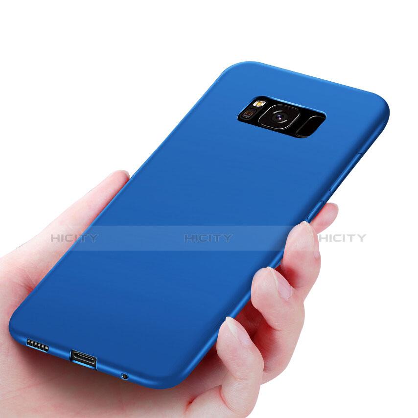 Silikon Schutzhülle Ultra Dünn Hülle S06 für Samsung Galaxy S8 Blau Plus