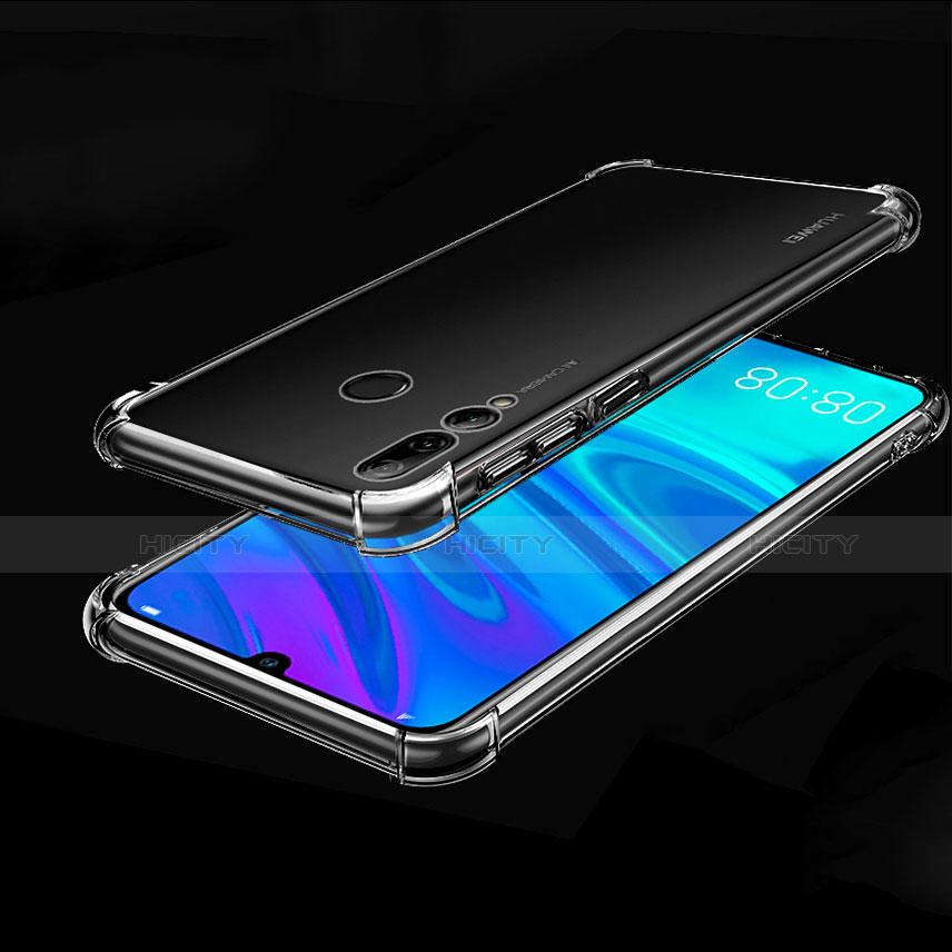Silikon Schutzhülle Ultra Dünn Tasche Durchsichtig Transparent H01 für Huawei Honor 20 Lite Klar Plus