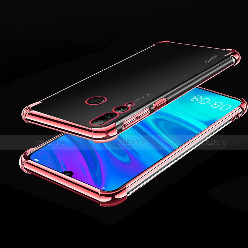 Silikon Schutzhülle Ultra Dünn Tasche Durchsichtig Transparent H01 für Huawei Honor 20 Lite Rosegold