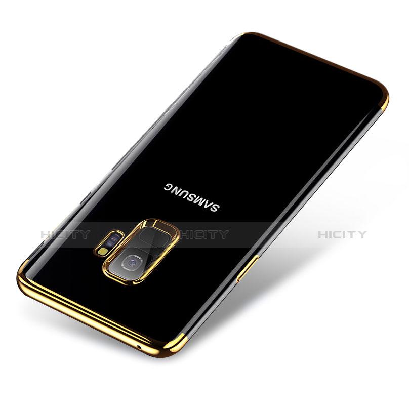 Silikon Schutzhülle Ultra Dünn Tasche Durchsichtig Transparent H01 für Samsung Galaxy S9 groß