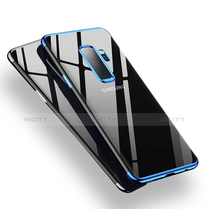 Silikon Schutzhülle Ultra Dünn Tasche Durchsichtig Transparent H01 für Samsung Galaxy S9 Plus groß