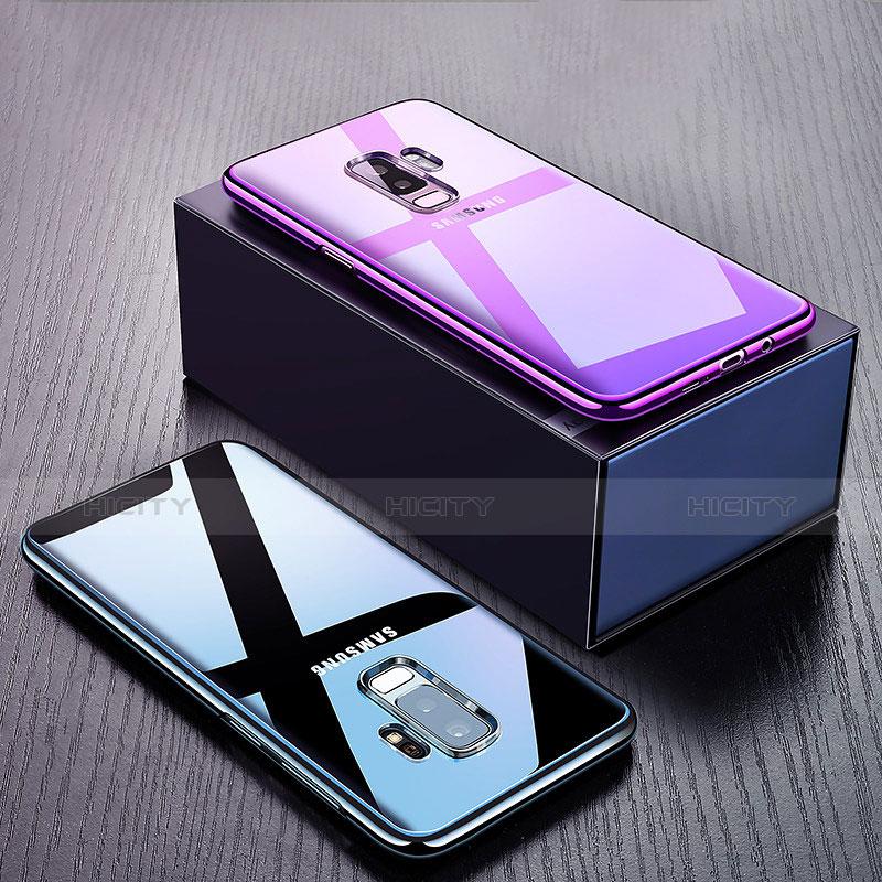 Silikon Schutzhülle Ultra Dünn Tasche Durchsichtig Transparent H02 für Samsung Galaxy S9 Plus groß