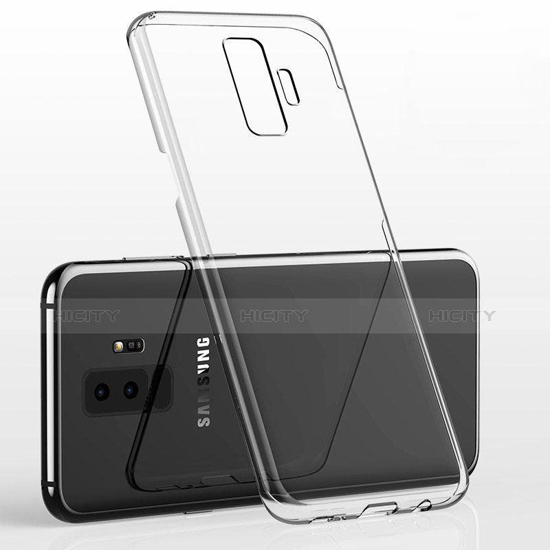 Silikon Schutzhülle Ultra Dünn Tasche Durchsichtig Transparent H02 für Samsung Galaxy S9 Plus Klar Plus