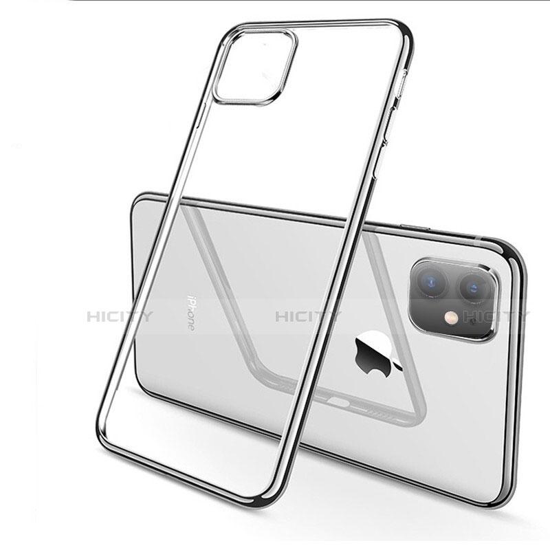 Silikon Schutzhülle Ultra Dünn Tasche Durchsichtig Transparent H03 für Apple iPhone 11 groß