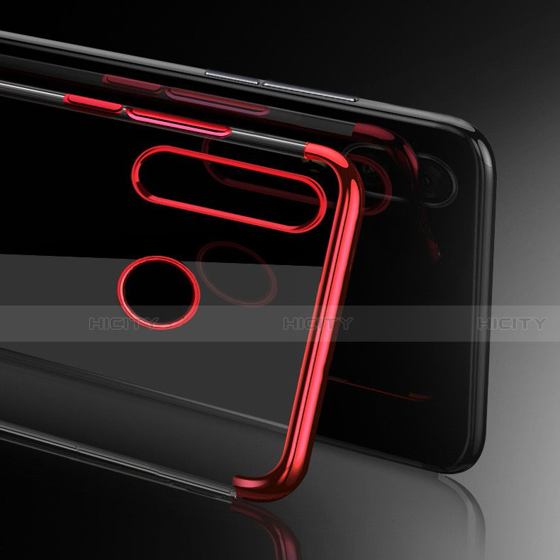 Silikon Schutzhülle Ultra Dünn Tasche Durchsichtig Transparent H03 für Huawei Honor 20 Lite groß