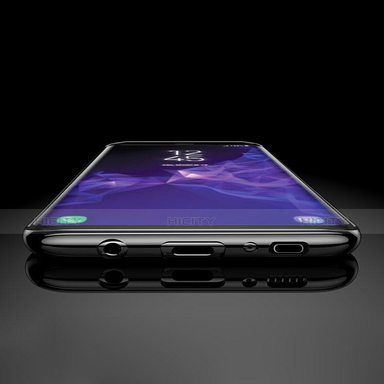 Silikon Schutzhülle Ultra Dünn Tasche Durchsichtig Transparent H03 für Samsung Galaxy S9 groß