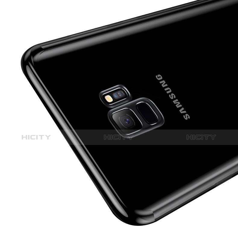 Silikon Schutzhülle Ultra Dünn Tasche Durchsichtig Transparent H03 für Samsung Galaxy S9