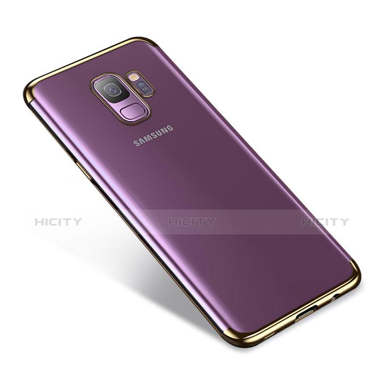 Silikon Schutzhülle Ultra Dünn Tasche Durchsichtig Transparent H03 für Samsung Galaxy S9 Gold Plus