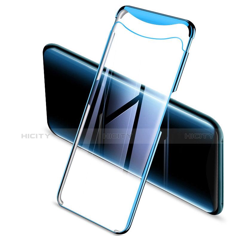 Silikon Schutzhülle Ultra Dünn Tasche Durchsichtig Transparent H04 für Oppo Find X groß
