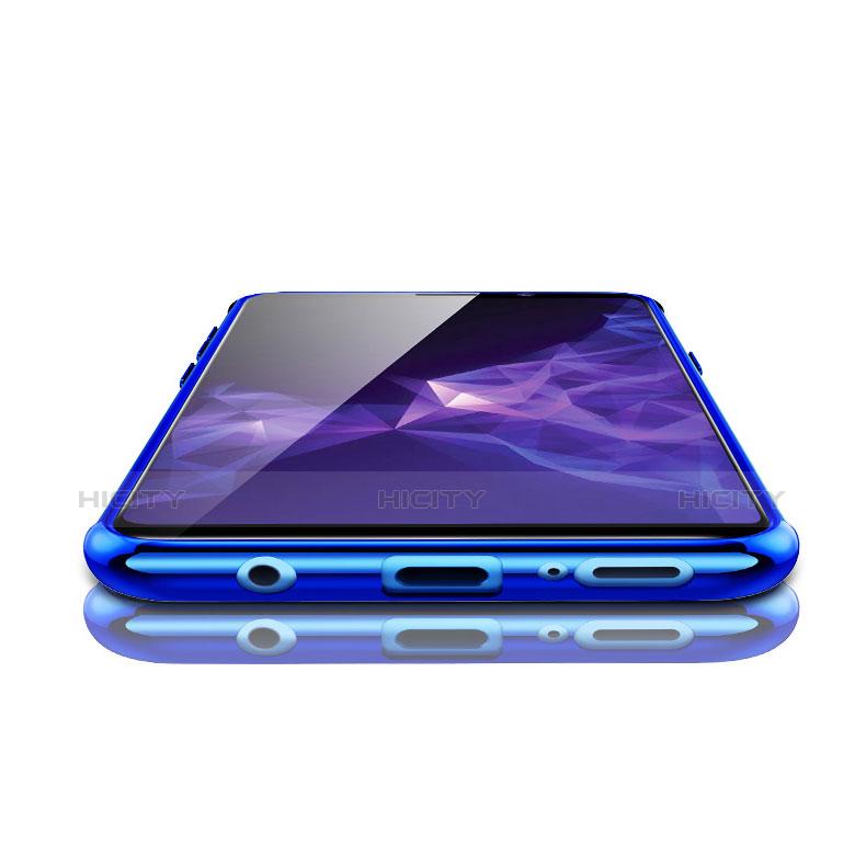Silikon Schutzhülle Ultra Dünn Tasche Durchsichtig Transparent H04 für Samsung Galaxy S9 groß