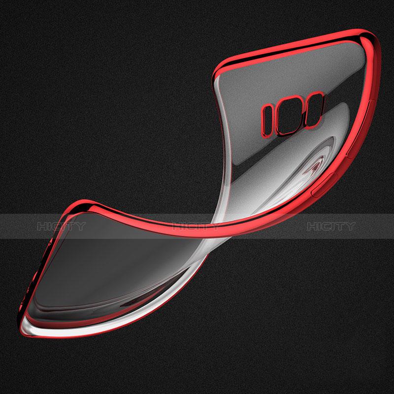 Silikon Schutzhülle Ultra Dünn Tasche Durchsichtig Transparent H05 für Samsung Galaxy S8 Plus groß