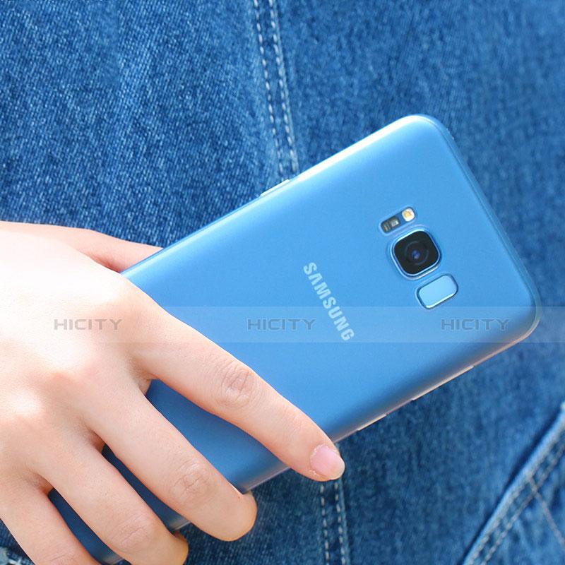 Silikon Schutzhülle Ultra Dünn Tasche Durchsichtig Transparent H07 für Samsung Galaxy S8 Klar Plus