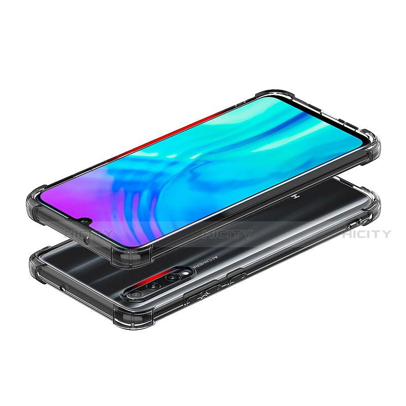 Silikon Schutzhülle Ultra Dünn Tasche Durchsichtig Transparent T02 für Huawei Honor 20 Lite Klar groß