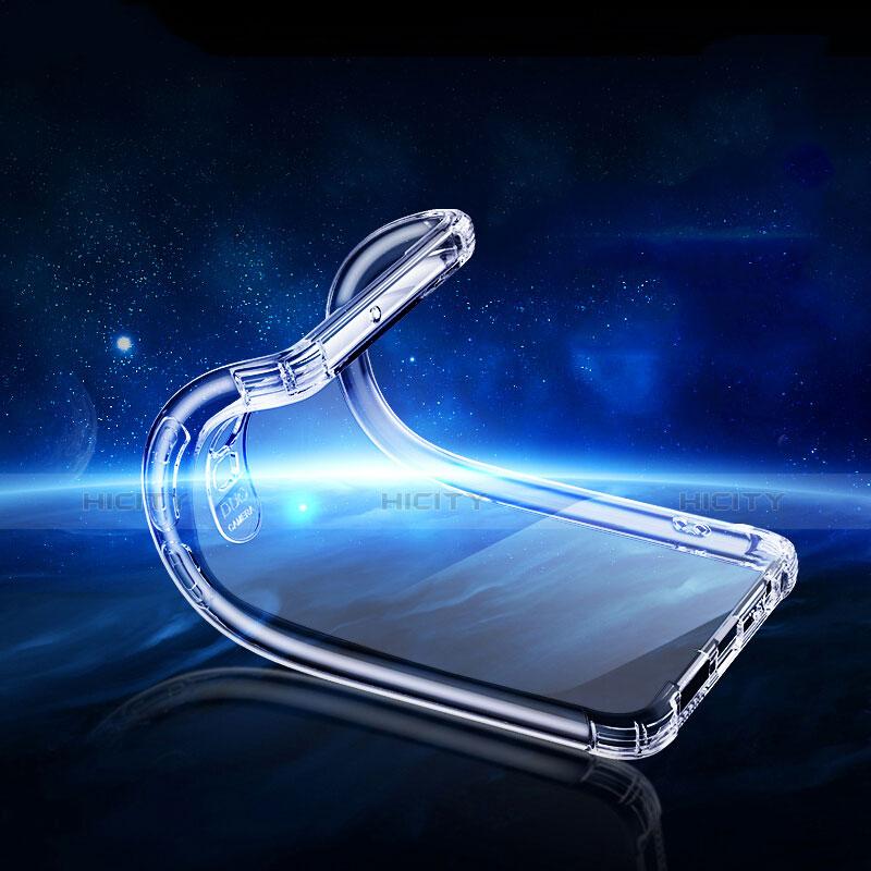 Silikon Schutzhülle Ultra Dünn Tasche Durchsichtig Transparent T05 für Huawei P30 Klar groß
