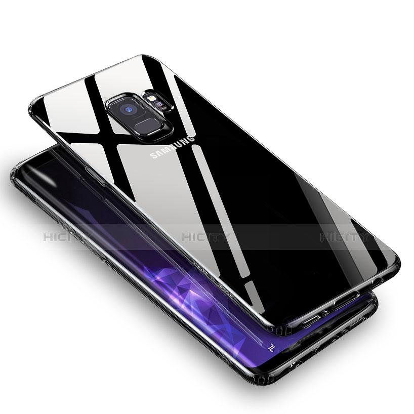 Silikon Schutzhülle Ultra Dünn Tasche Durchsichtig Transparent T06 für Samsung Galaxy S9 Klar Plus