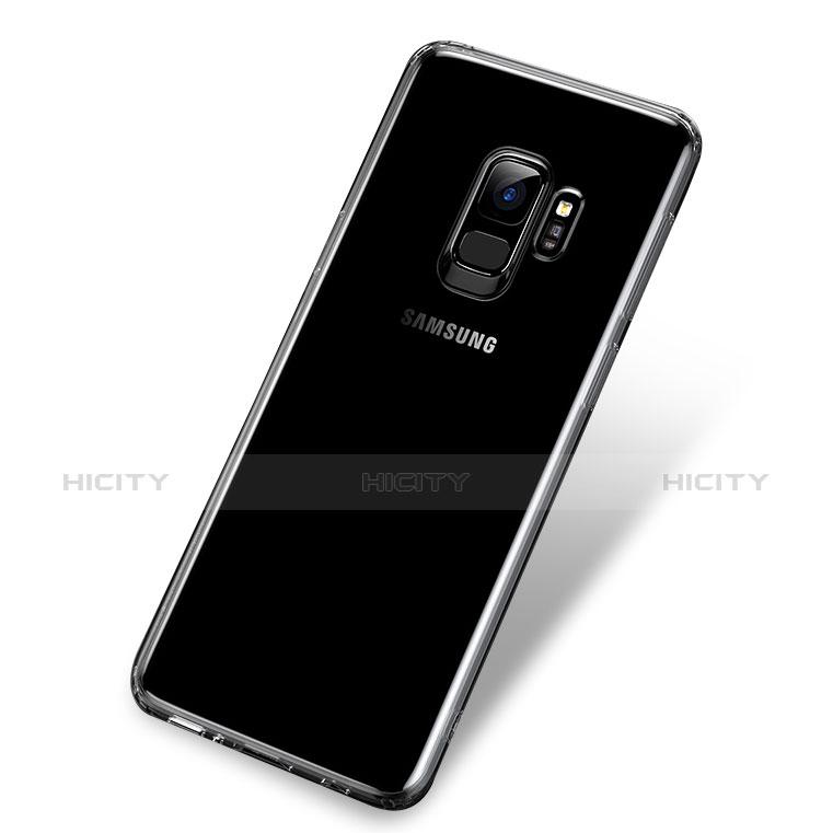 Silikon Schutzhülle Ultra Dünn Tasche Durchsichtig Transparent T06 für Samsung Galaxy S9 Klar groß