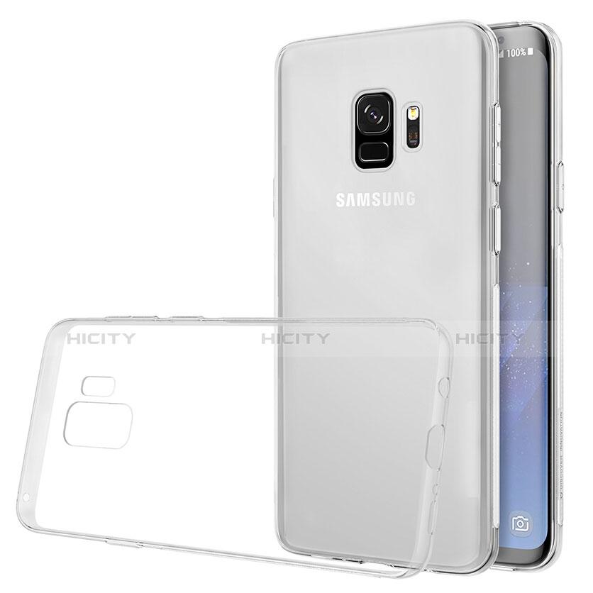 Silikon Schutzhülle Ultra Dünn Tasche Durchsichtig Transparent T07 für Samsung Galaxy S9 Klar groß