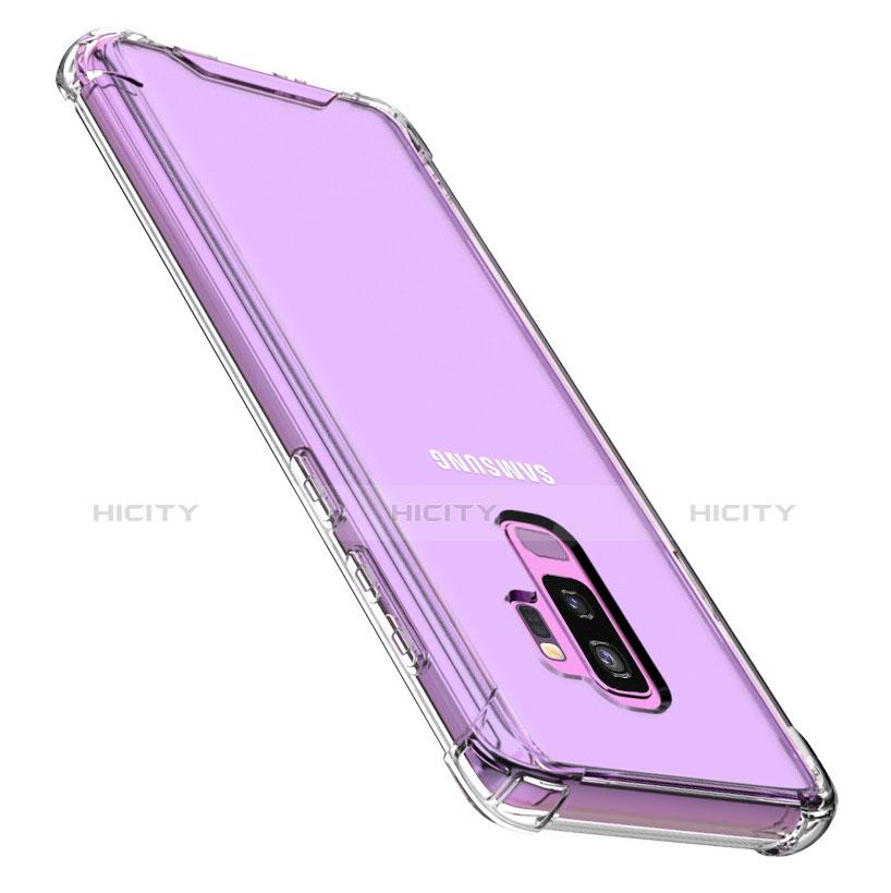 Silikon Schutzhülle Ultra Dünn Tasche Durchsichtig Transparent T07 für Samsung Galaxy S9 Plus Klar Plus