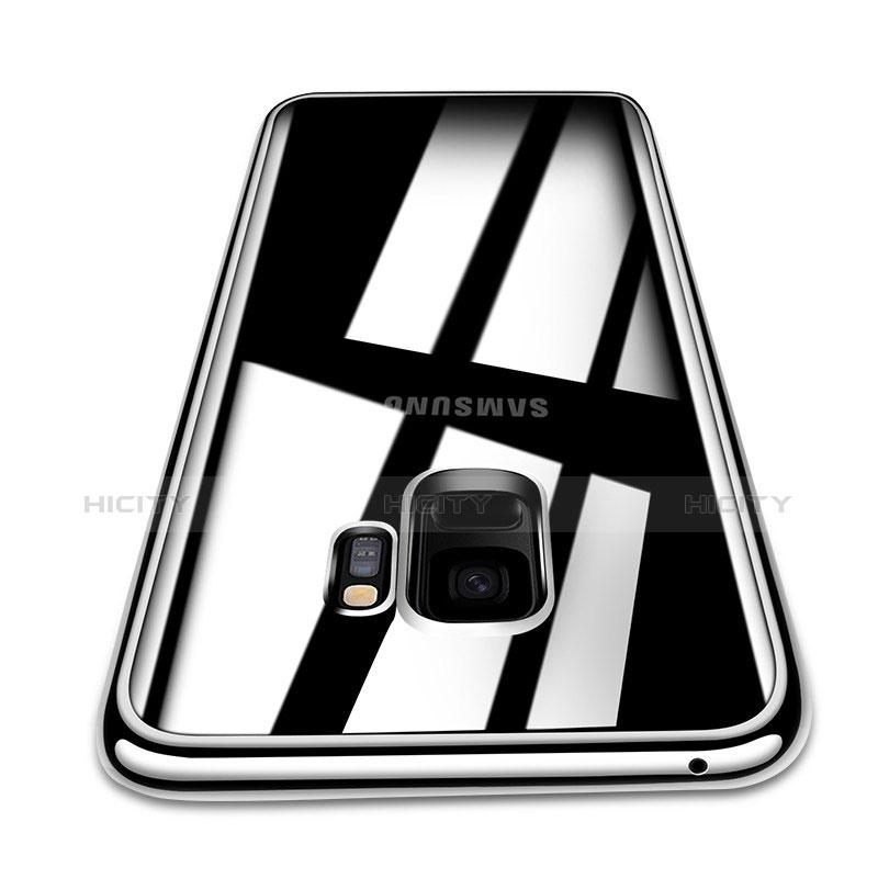 Silikon Schutzhülle Ultra Dünn Tasche Durchsichtig Transparent T08 für Samsung Galaxy S9 Klar Plus