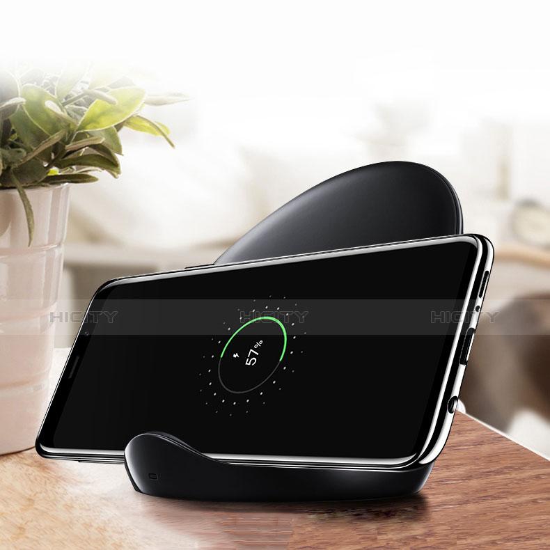 Silikon Schutzhülle Ultra Dünn Tasche Durchsichtig Transparent T08 für Samsung Galaxy S9 Klar groß