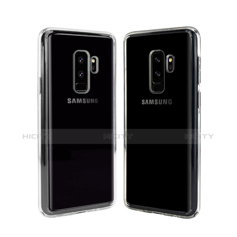 Silikon Schutzhülle Ultra Dünn Tasche Durchsichtig Transparent T08 für Samsung Galaxy S9 Plus Klar Plus