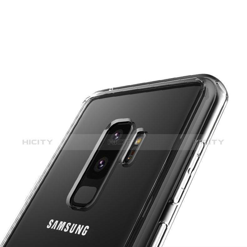 Silikon Schutzhülle Ultra Dünn Tasche Durchsichtig Transparent T08 für Samsung Galaxy S9 Plus Klar groß