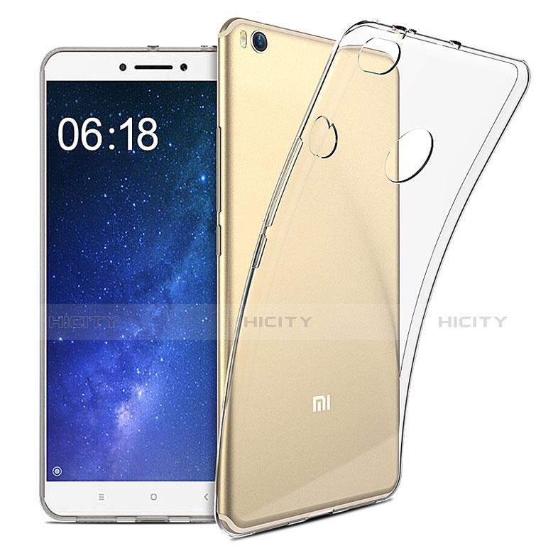 Silikon Schutzhülle Ultra Dünn Tasche Durchsichtig Transparent T09 für Xiaomi Mi Max 2 Klar Plus