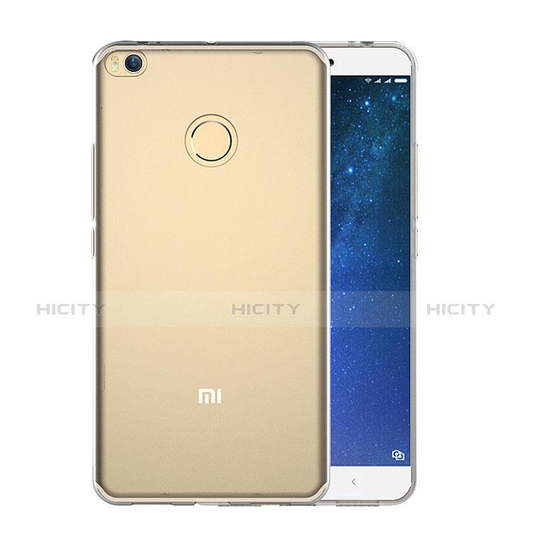 Silikon Schutzhülle Ultra Dünn Tasche Durchsichtig Transparent T09 für Xiaomi Mi Max 2 Klar groß