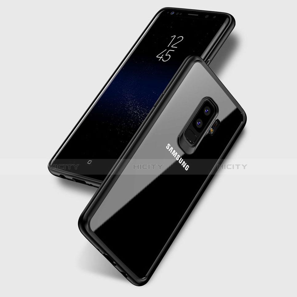 Silikon Schutzhülle Ultra Dünn Tasche Durchsichtig Transparent T10 für Samsung Galaxy S9 Plus Klar Plus