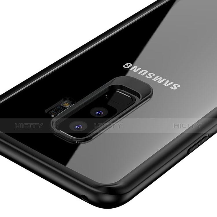 Silikon Schutzhülle Ultra Dünn Tasche Durchsichtig Transparent T10 für Samsung Galaxy S9 Plus Klar groß